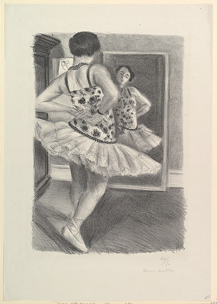 Dancer at the Mirror