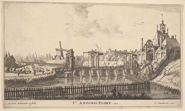 St. Antonis Poort, Amsterdam