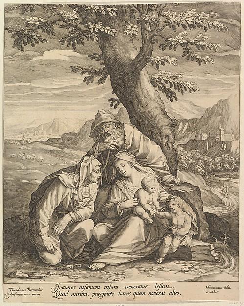 Holy Family with St. Elizabeth & St. John the Baptist