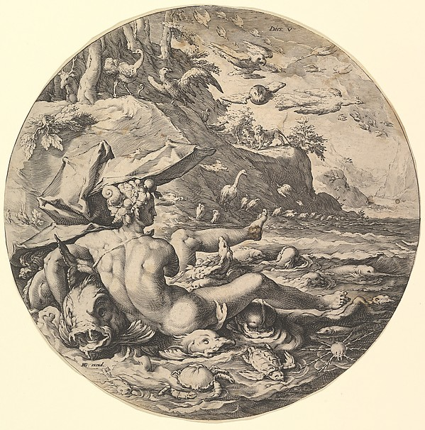 The Fifth Day (Dies V ), from the series The Creation of the World