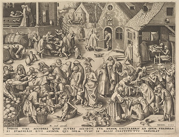 Charity (Charitas) from The Virtues