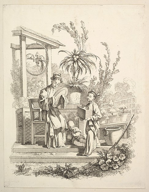 Fascinating Historical Picture of Gabriel Huquier with The Toilet in 1742