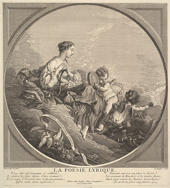 This is What Claude Augustin Duflos le Jeune and Lyrical Poetry Looked Like  in 1741