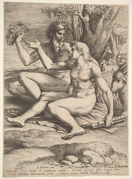 Two Nude Shepherds