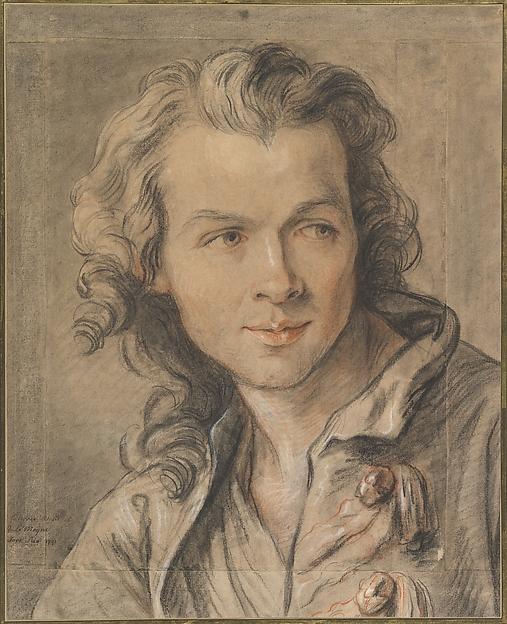 Portrait of Étienne Maurice Falconet (1716–1791)