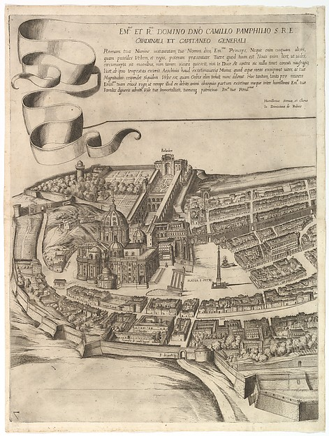 Plan of the City of Rome