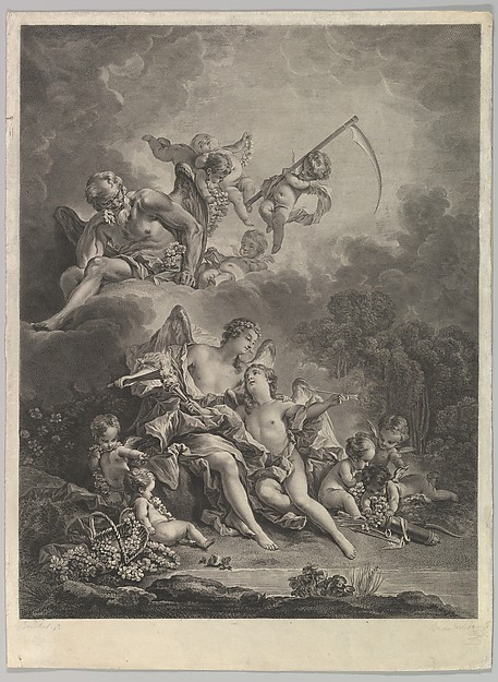 L'Hymen et l'Amour (Hymen and Cupid)