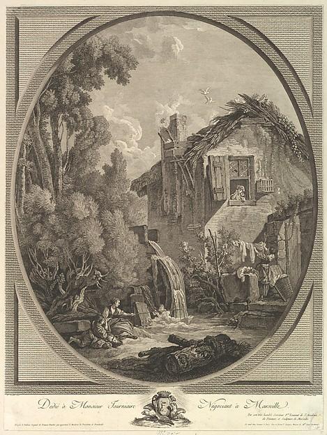 Paysage au Moulin (Windmill Landscape)