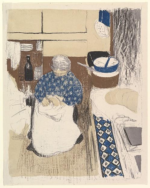 La Cuisinière, from the series Paysages et Intérieurs