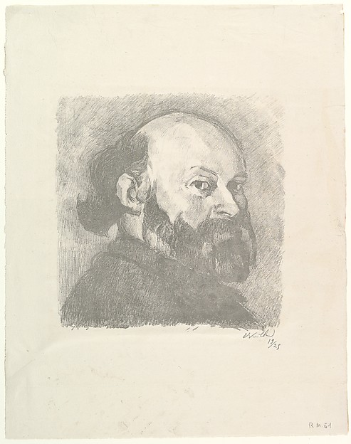 Portrait of Cézanne