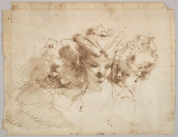 Three Female Heads