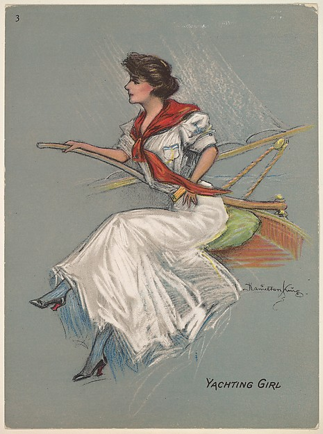 Yachting Girl, from the series