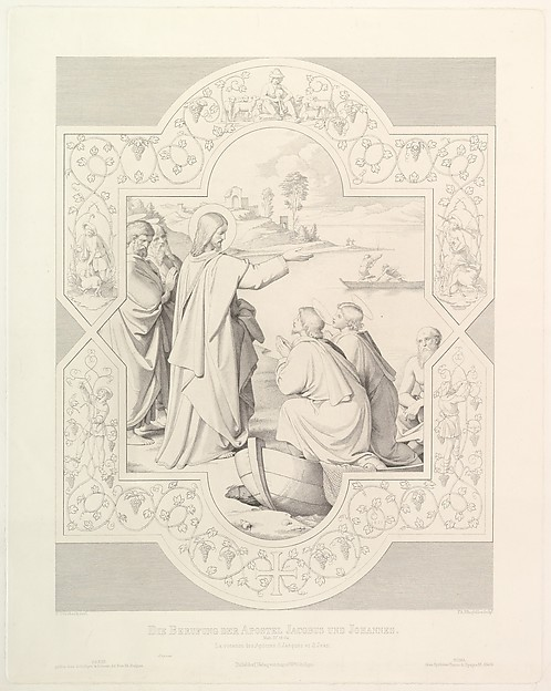The Calling of the Apostles St. James and St. John