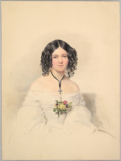 Countess Hélène Esterházy, née Countess Bezobrazov