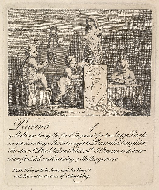 Fascinating Historical Picture of William Hogarth with Boys Peeping at Nature in 1751