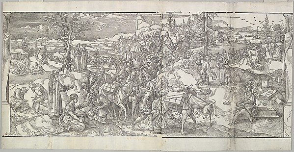The Passage of a Caravan from the frieze Ces Moeurs et fachons de faire de Turcz (Customs and Fashions of the Turks)