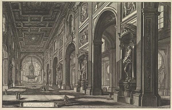 S. Giovanni in Laterano. Interior