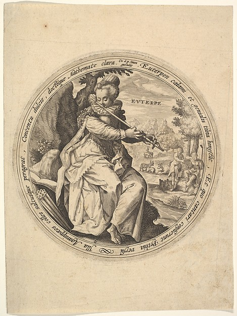 Euterpe, from The Muses
