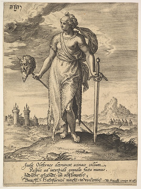 Judith, from Willem van Haecht, Tyrannorum proemia, 1578