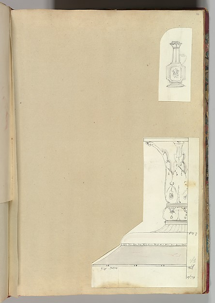 Designs for a Ewer and a Candlestick