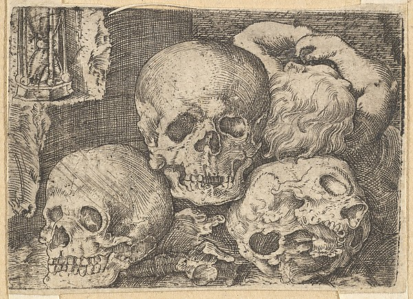 Child with Three Skulls (reverse copy)
