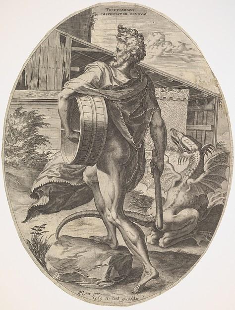 Triptolemus from The Rural Gods