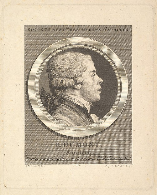 Portrait of François Dumont