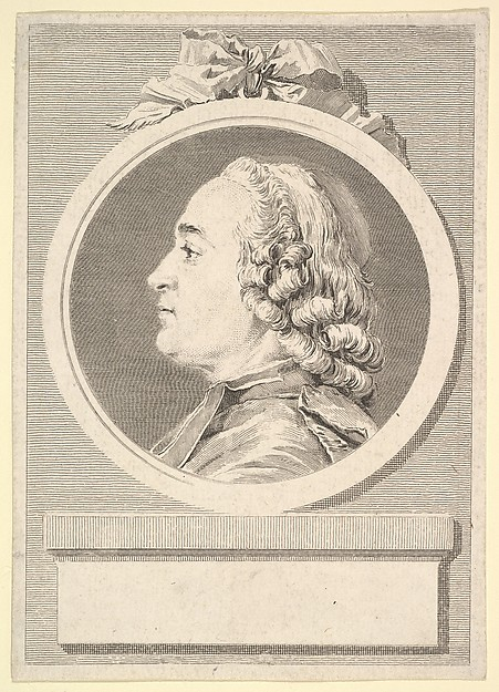 This is What Augustin de Saint-Aubin and Portrait of Charles Gauzargues Looked Like  in 1767