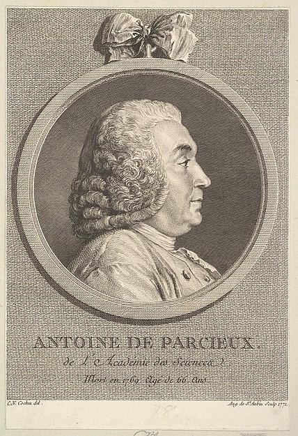 Portrait of Antoine de Parcieux