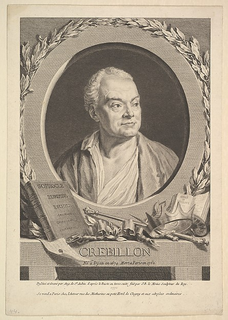 Portrait of Crébillon