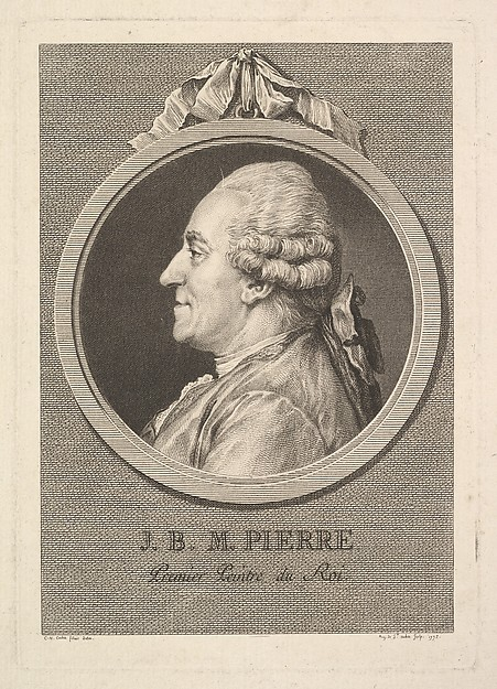 Portrait of Jean-Baptiste-Marie Pierre