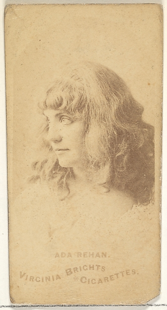 Ada Rehan, from the Actors and Actresses series (N45, Type 1) for Virginia Brights Cigarettes