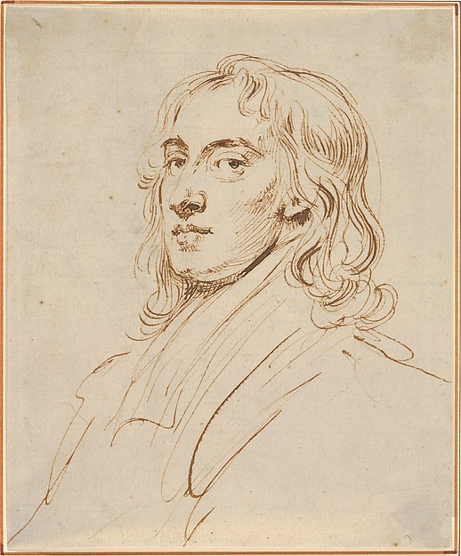 This is What younger and Self-Portrait Looked Like  in 1720