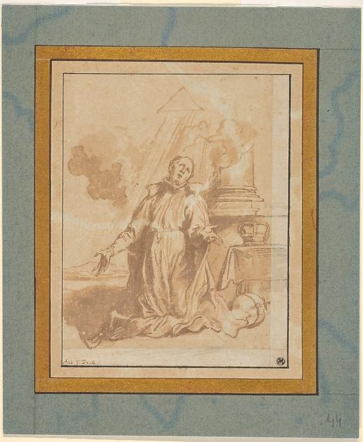 The Blessed Aloysius Gonzaga in Ecstasy