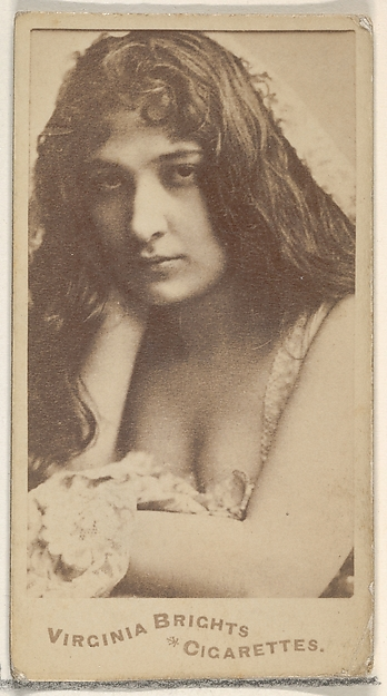 From the Actors and Actresses series (N45, Type 5) for Virginia Brights Cigarettes
