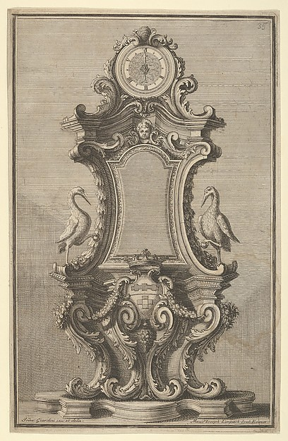 Design for a Clock, from 'Disegni Diversi'