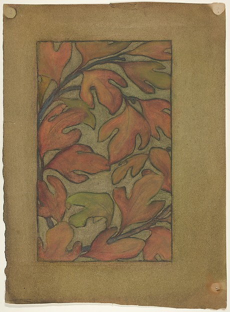 Sassafras leaves (for Sassafras Linen Press)