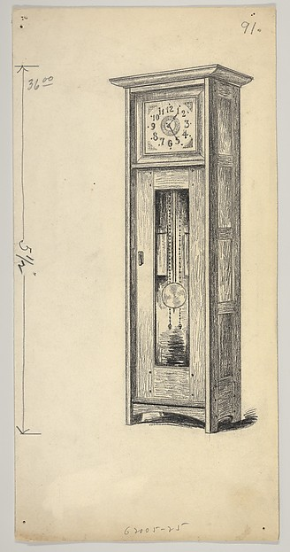 Design for a Standing Clock