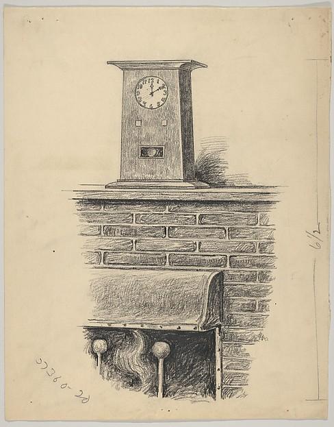 Design for a Mantel Clock