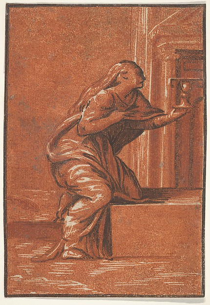 """Faith"" (after Parmigianino)"