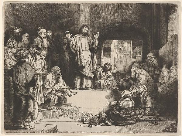 Christ Preaching, called La Petite Tombe