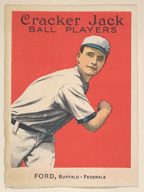 Ford, Buffalo, Federal League, from the Ball Players series (E145) for Cracker Jack