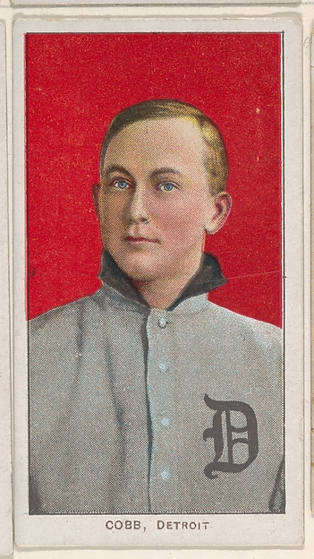 Cobb, Detroit, American League, from the White Border series (T206) for the American Tobacco Company