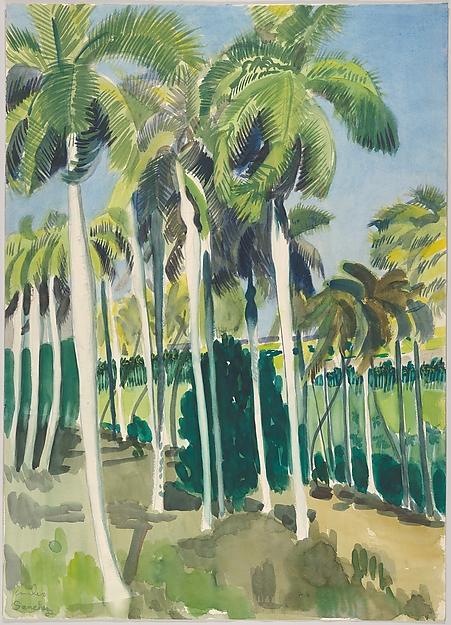 View of Ranch El Valle in Camaguey Cuba 1950