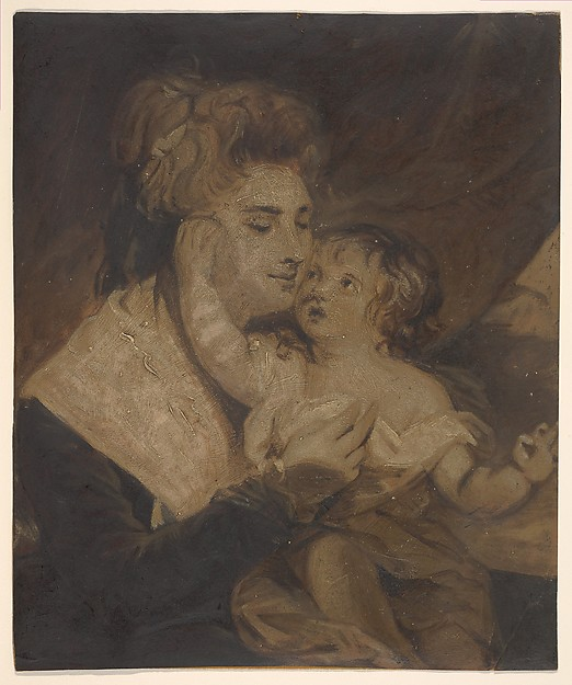 Lady Dashwood and Her Son