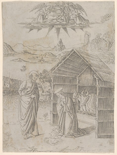 The Nativity, from Life of the Virgin and Christ