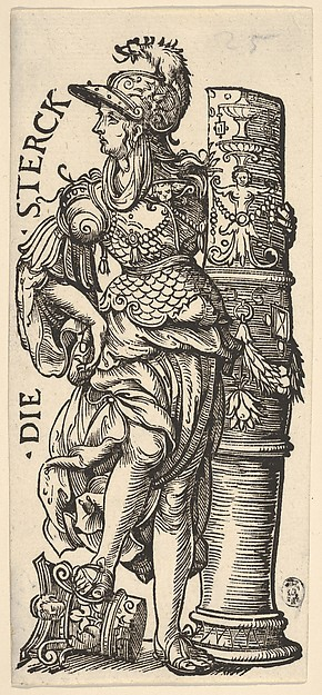 Fortitude (Die Sterck), from The Seven Virtues