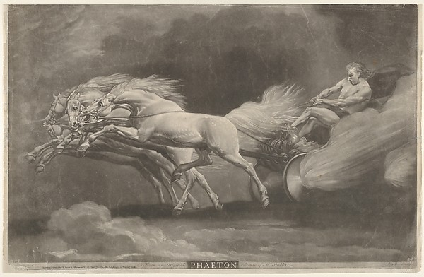 Fascinating Historical Picture of Benjamin Green with Phaeton on 6/2/1777