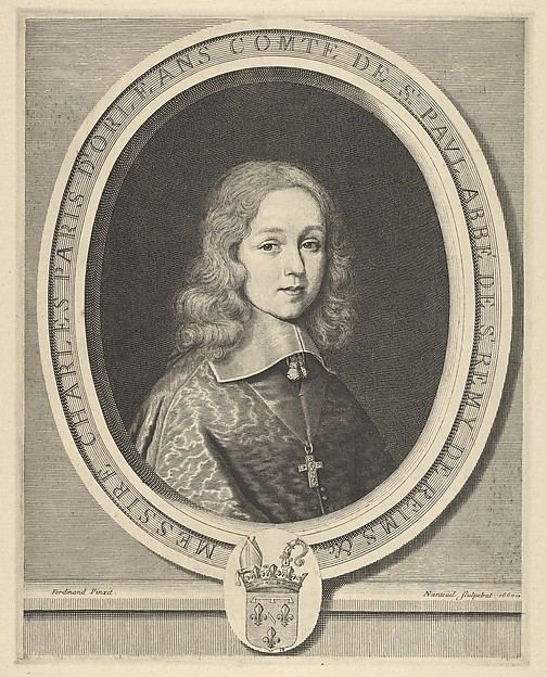 Facsimile Reproduction of Charles-Paris d'Orléans-Longueville, comte de Saint-Pol
