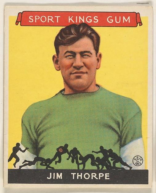Jim Thorpe, Football